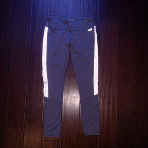 AVIA Dark Gray Fitness Workout Stretch Pants M